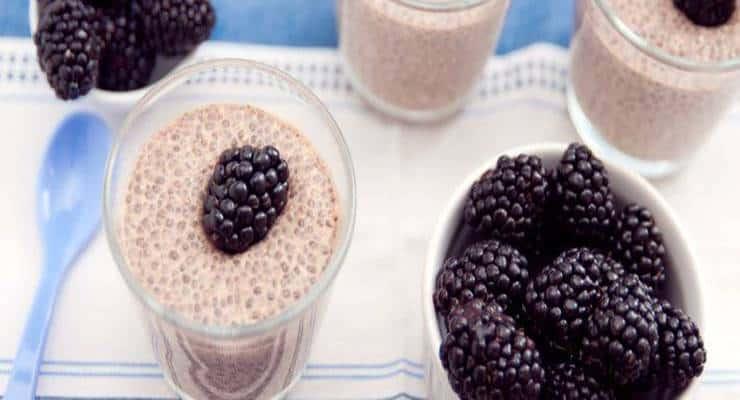 Photo of Receta de Pudding de Plátano y chia y beneficios de ambos