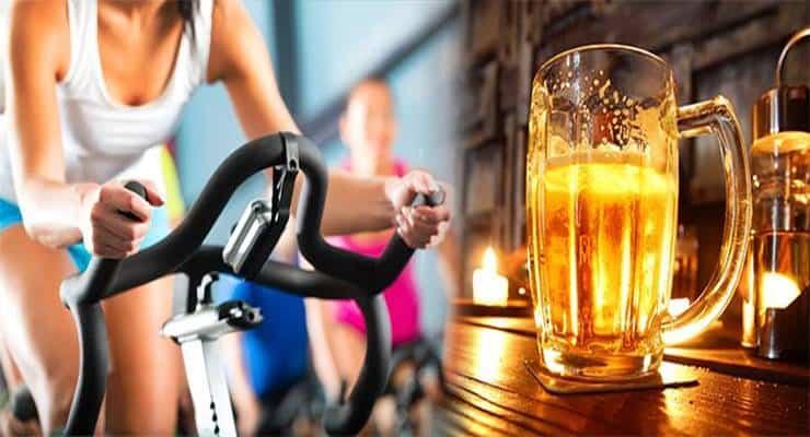 beber alcohol entrenamiento