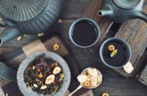 té negro y perdida de peso