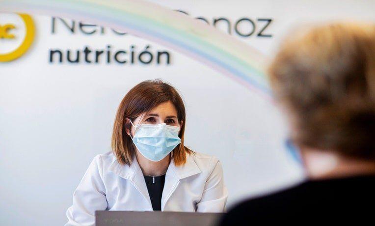 Nerea Cenoz, dietista y nutricionista en Pamplona