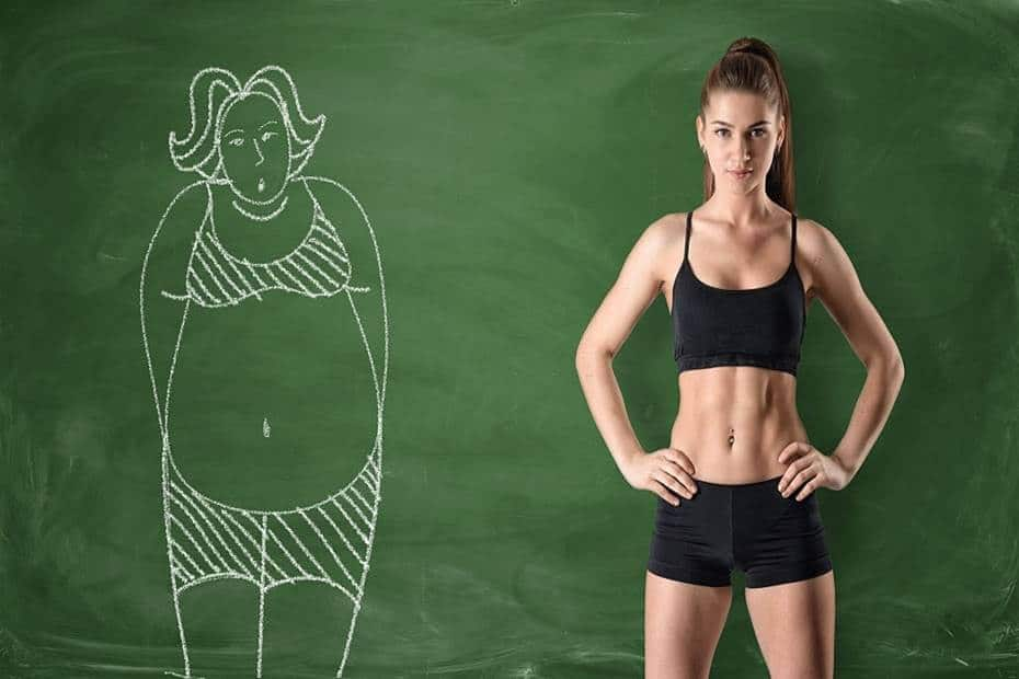 Mujer fitness - Perder grasa